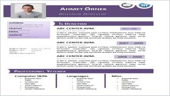 Güvenlik Görevlisi CV Örneği