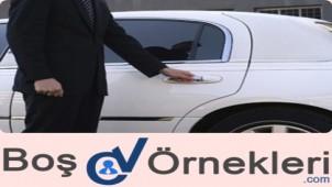 Makam Şoförlüğü için CV Örneği